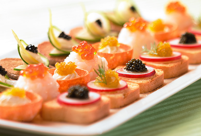 Outside catering the royal northern university club for History of canape